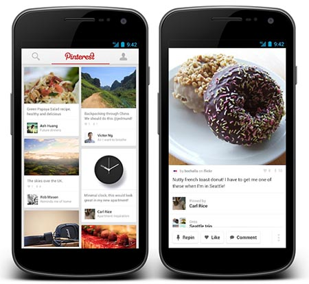 Download Pinterest for free