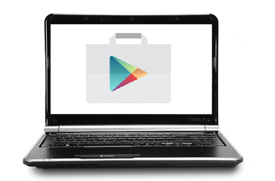 Play Store on your computer