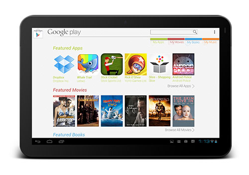 Download Play Store for Tablet